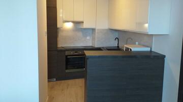 Dwa pokoje, aneks, taras 10 m2, apartamentowiec In City centrum