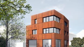Z pozwoleniem na budowę nowoczesnej willi w centrum Krakowa