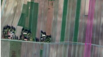 Działka 3,52 ha rolna, siedliskowa Prandocin Iły, Słomniki